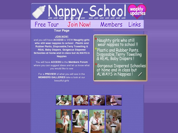 Nappy School Discount Access