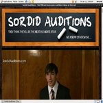 Sordid Auditions V2 Sex.com