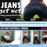 User Pass Jeans Get Wet