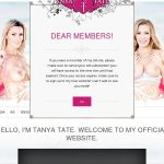 Tanya Tate With European Credit Card