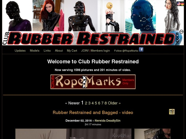 Free Club Rubber Restrained Id And Password