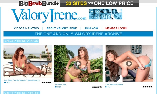 Valory Irene Limited Time Offer