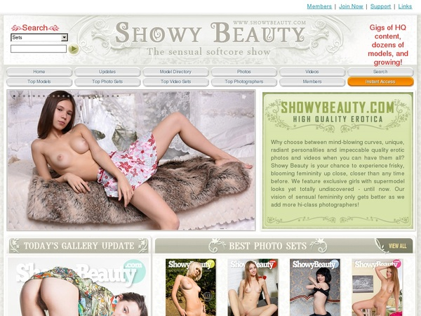 Create Showy Beauty Account