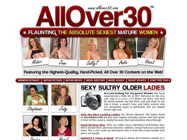 Premium Allover30.com Password