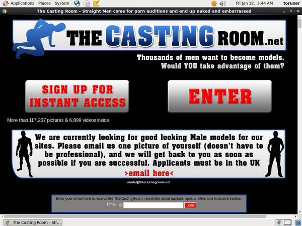 Thecastingroom Account New